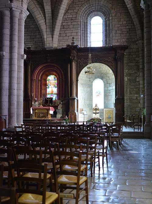 Rocamadour教会