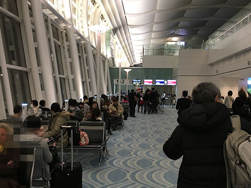 羽田空港エールフランス優先搭乗