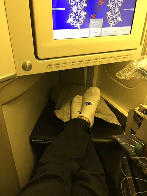 エールフランス航空ビジネスクラス