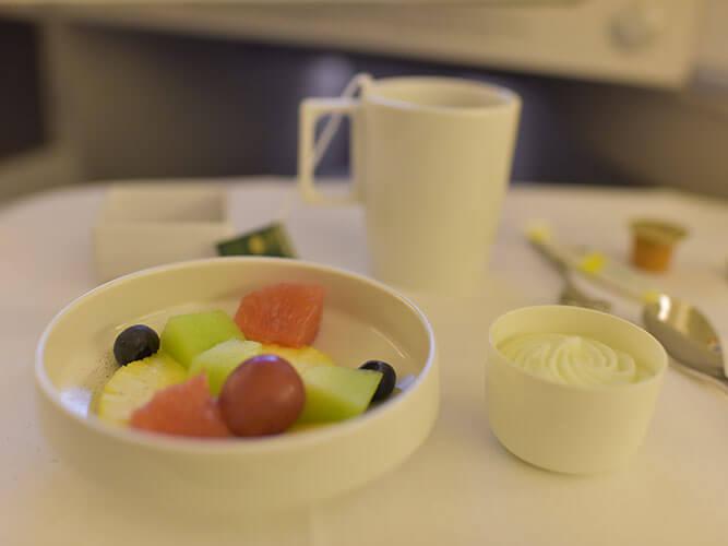 羽田発エールフランス機内食メイン2018.8月
