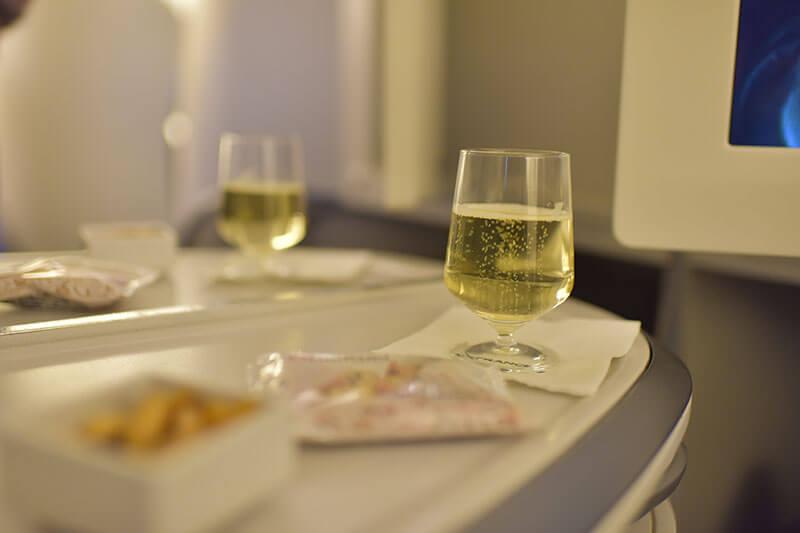 エールフランス航空ビジネスクラス2018年8月