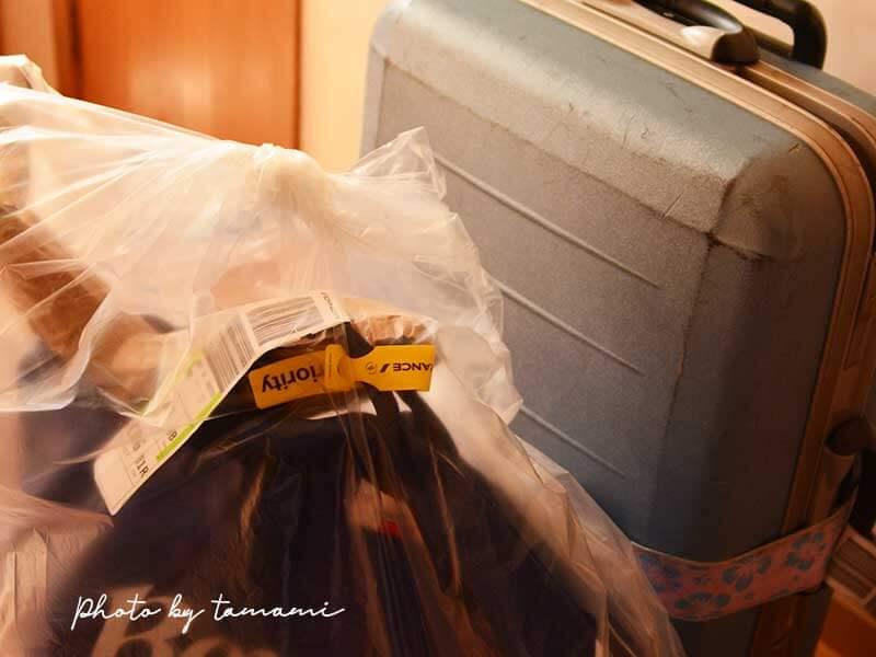 エールフランス航空プレミアムエコノミーの優先手荷物受け取り