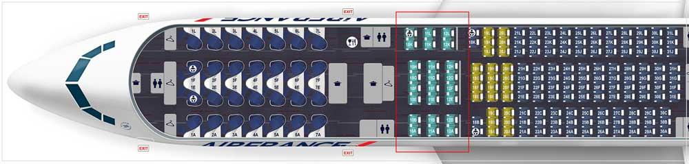 エールフランス航空機材 B777 200BEST-312