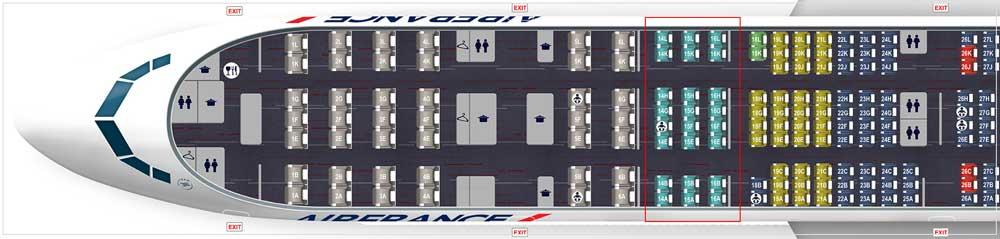 エールフランス機材 B300-381