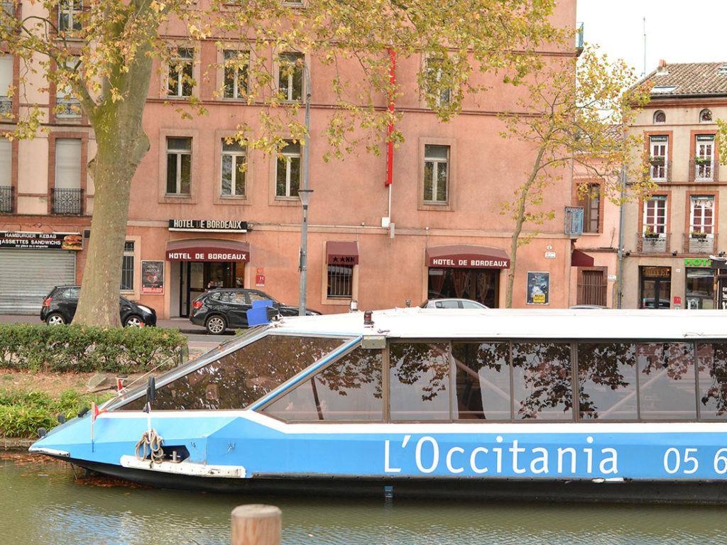 Toulouseの町並み