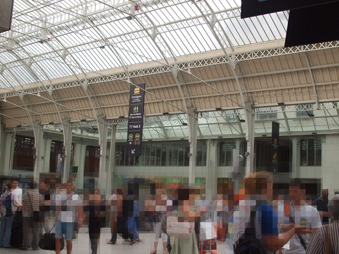 Paris Gare De Lyon TGV
