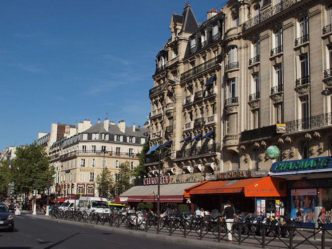 Mercure Paris Gare De Lyon TGVホテル周辺
