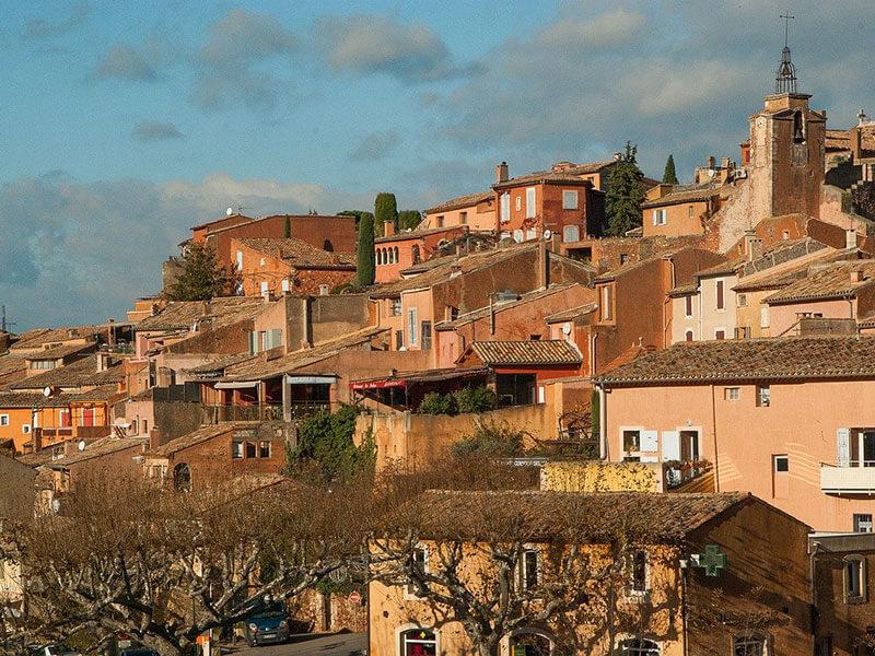 リュベロン地方の美しい村