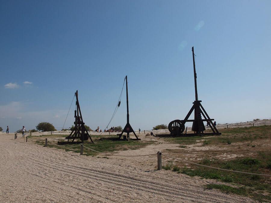 レ・ボー・ド・プロヴァンスの要塞