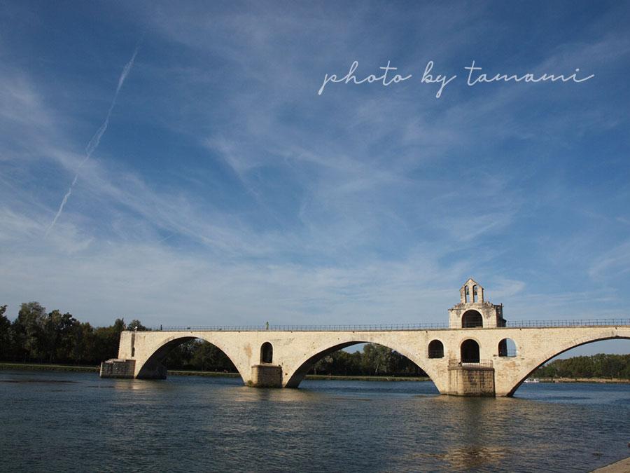 アヴィニョンの象徴サン・ベネゼ橋