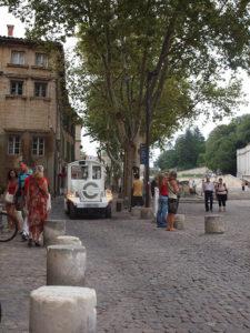 アヴィニョンの街歩き