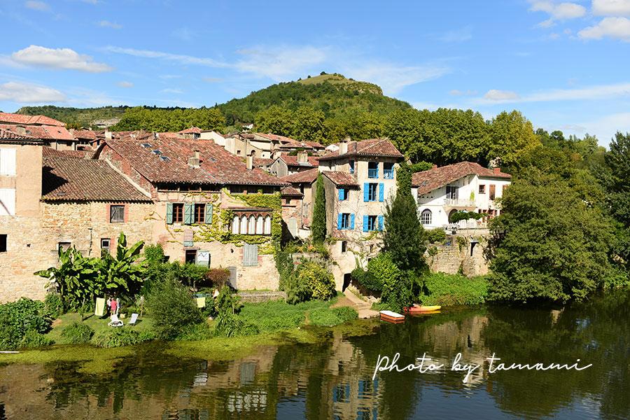 フランスの田舎の風景