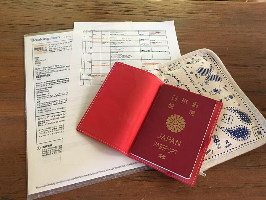 海外旅行機内持ち込み手荷物
