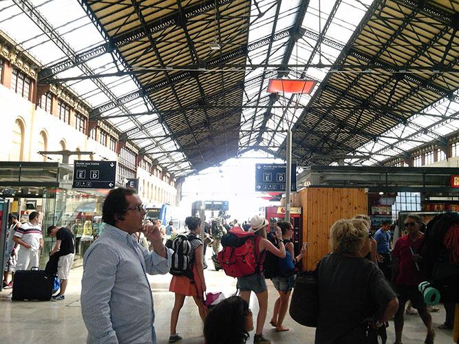 マルセイユ サン・シャルル駅