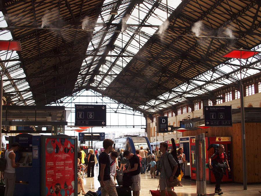 マルセイユ シャン・シャルル駅
