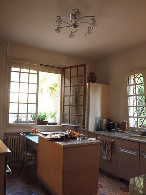 プロヴァンス地方のキッチン