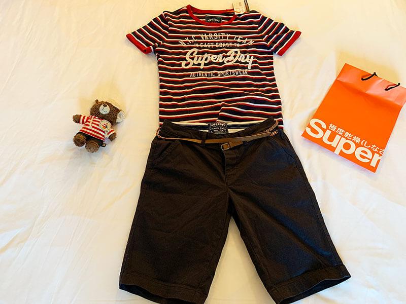 海外旅行の夏の服装
