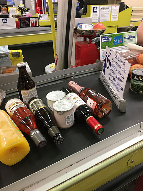 フランスのスーパーで買うもの