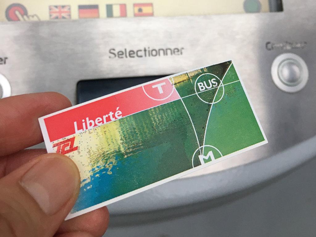 リヨンでトラム・メトロ・バスのチケットの買い方