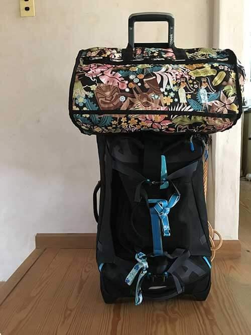 出発時の荷物