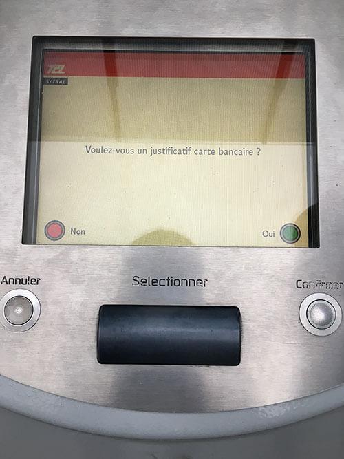 リヨンでトラム・メトロ・バスのチケットを買う