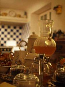 シャンブルドット「Villa Mezzo Monte」朝食