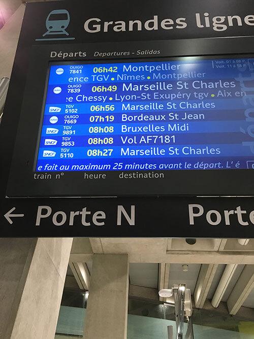 シャルル・ド・ゴール空港 TGV駅