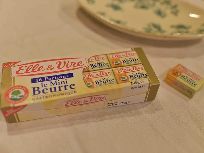 フランスのお土産(バター)