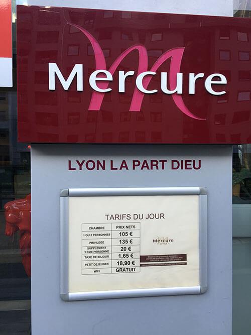 Mercure Lyon Centre-Gare Part-Dieu Hotel