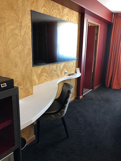リヨンのパール・デュー駅近くにあって便利なホテル【Mercure Lyon Centre-Gare Part Dieu】