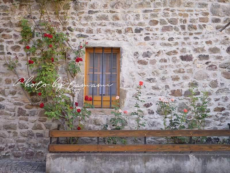 サン・フロレの村を散策