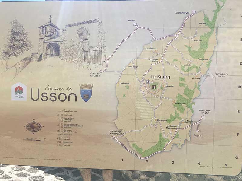 ユッソンの全図