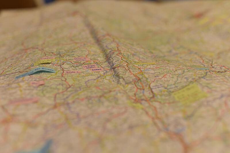 ミシュラン地図