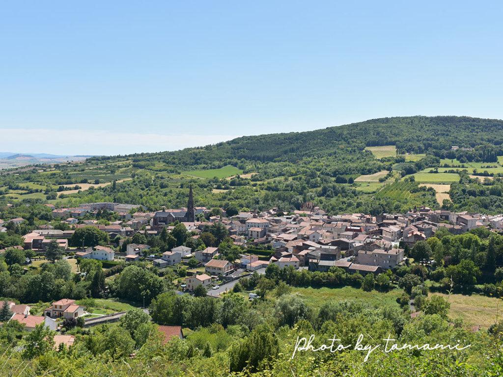 オーヴェルヌ地方の村