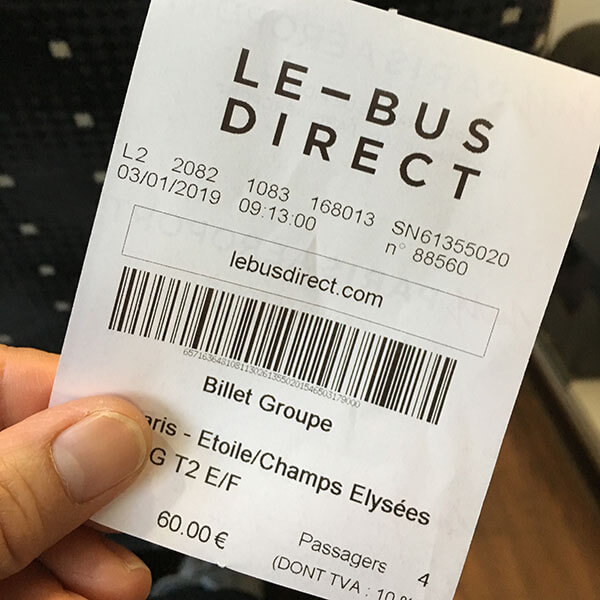 LE BUS Directのグループ割引適用