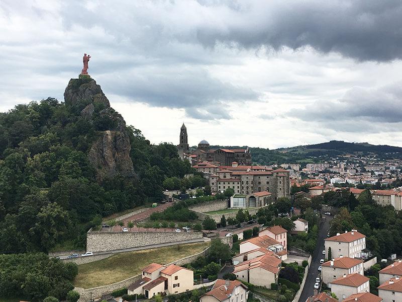 聖ミカエル礼拝堂から見える風景