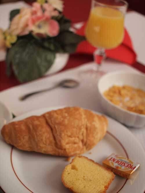 Hôtel Notre Dame de Fourvièreの朝食