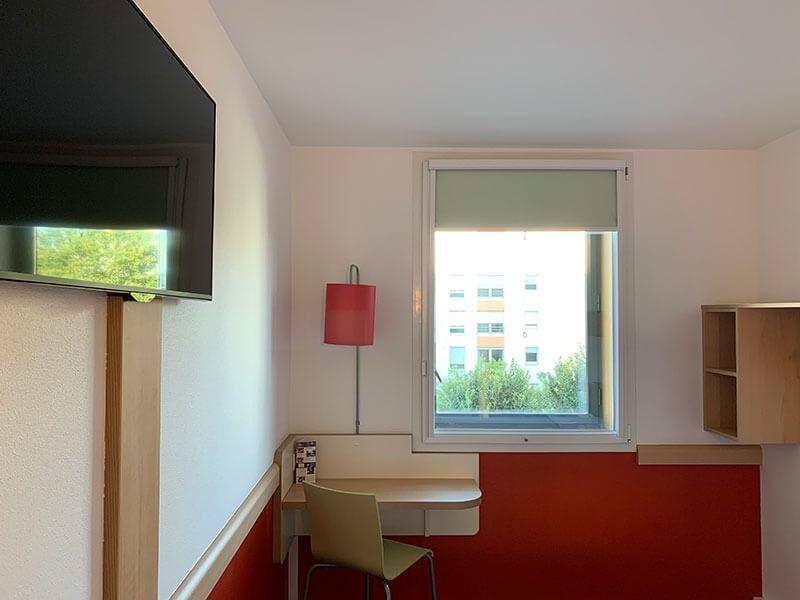 リヨンのパール・デュー駅近くにあって便利なホテル【Ibis Budget Lyon Centre – Gare Part Dieu】