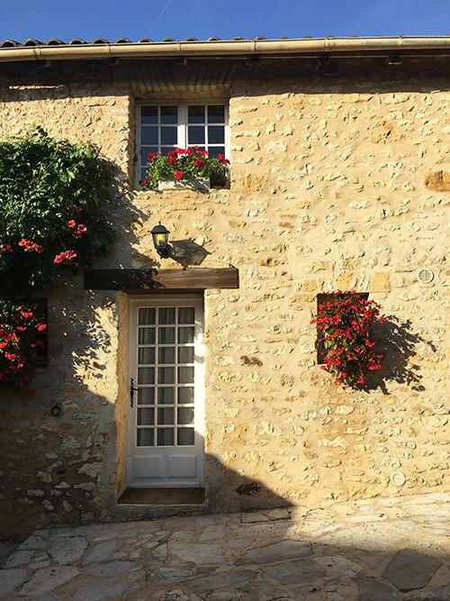 オーベルジュ La Métairie 部屋の入り口
