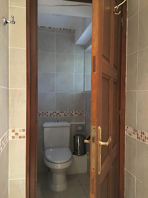 オーベルジュ La Métairieトイレ
