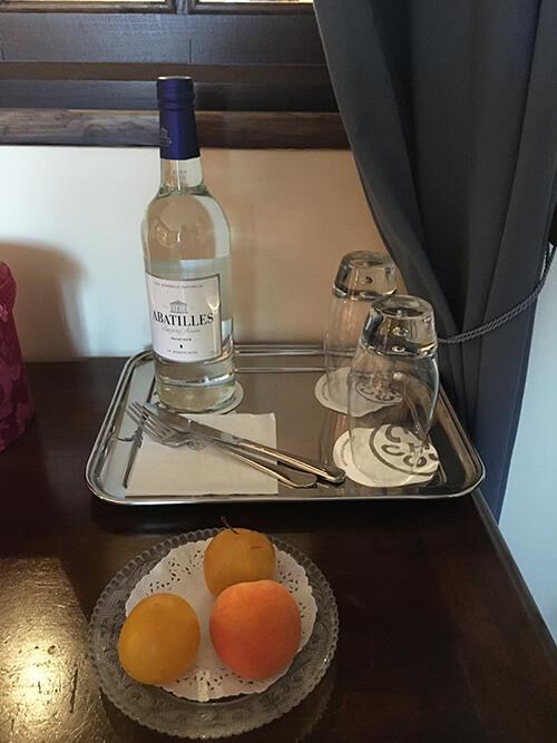 オーベルジュ La Métairieサービスのお水