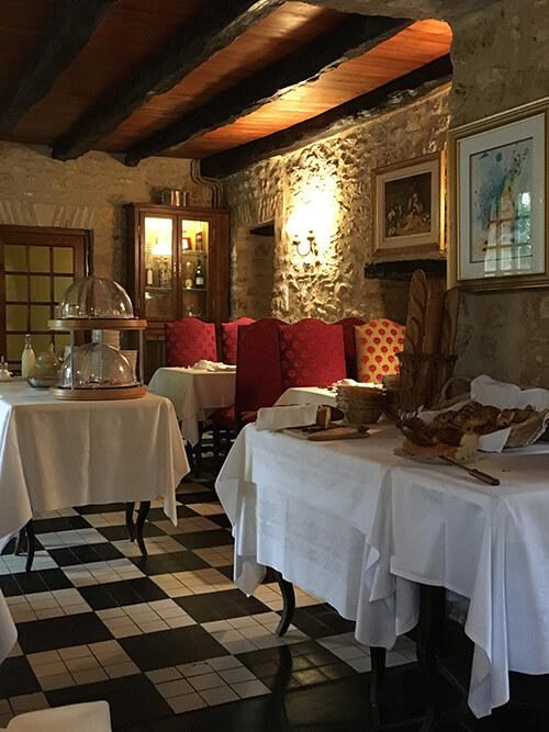オーベルジュ La Métairieの朝食