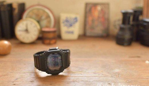 海外旅行にもおすすめ!愛用歴10年トラベラーが使う時計G-SHOCK【GW-M5610-1BJF】はワールドタイムが便利!