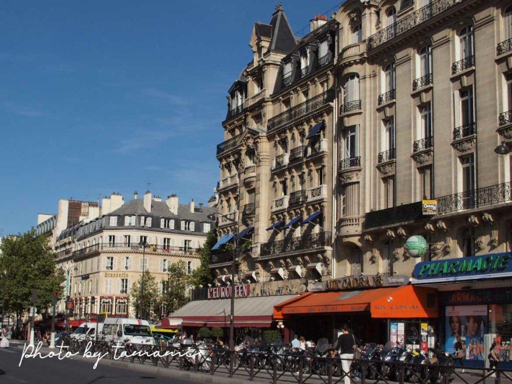 パリ・リヨン駅周辺