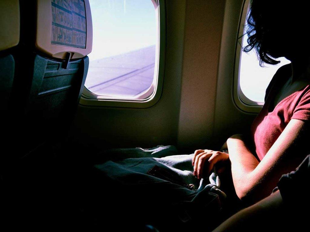 機内で快適に過ごす