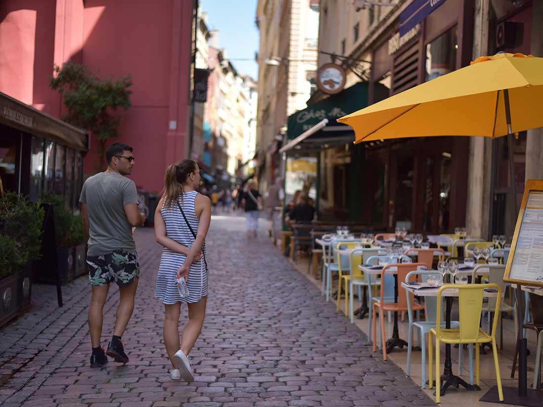 美食の街リヨン