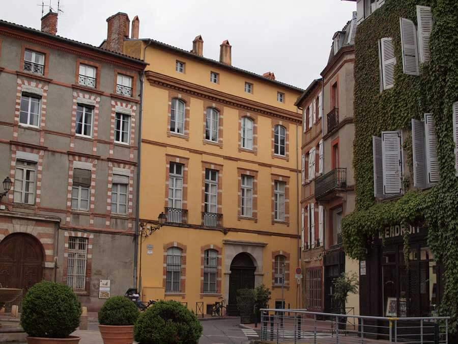 トゥールーズ旧市街