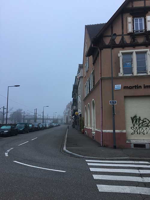 Hotel The Originals Colmar Gare(ex P'tit-Dej Hotel)までの道