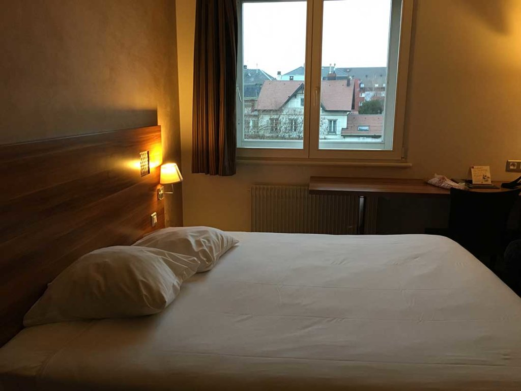 Hotel The Originals Colmar Gare(ex P'tit-Dej Hotel)の部屋