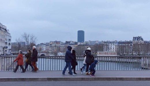 パリ・セーヌ川の風景